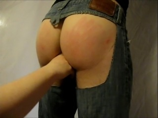 fisting the hubby
