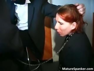 Nasty kinky redhead MILF slut part2
