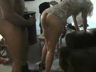 Girls watch their hot ass friend getting fucked
