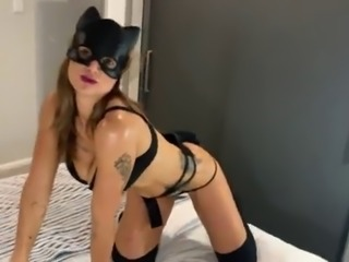 Pussy perfect milf gets cum facial after best fuck