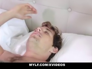 MYLF - Perfect Tits Milf Blows Her Stepson