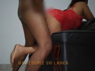 Sri Lankan Hot Couple in Action
