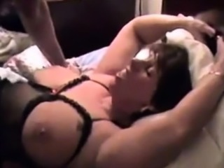 delicious chubby mom get her holes destroyed