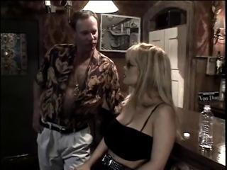 Three blondes dominate their man