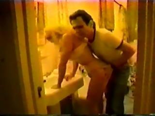 Megan Moore sexy Sheer Pantyhose n Rick Savage streets NY