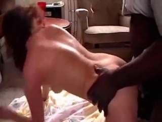 3some For Brunette Wife
