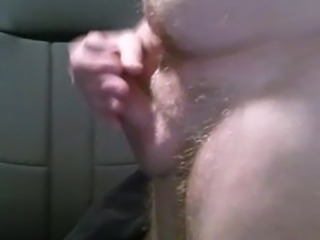 Tiny flaccid to rock hard 4 inch cock cumshot