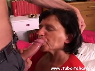 Simply excellent italian mature fucked