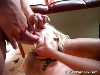 Sadistic BDSM action where blonde girl part2