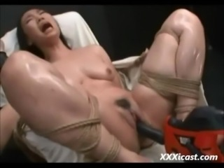 Asian Made To Orgasm With Power ... free