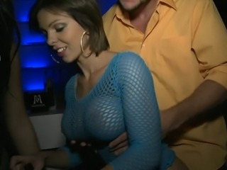Busty Annakay and her friend got their pussies pounded