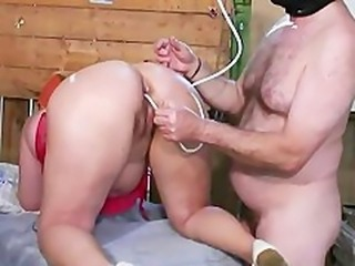 Ass Fuck Enema And Squirting