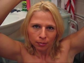 Amateur German Blonde Blowjob Condom Cocktail