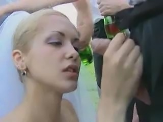 Outdoor Bride Gangbang