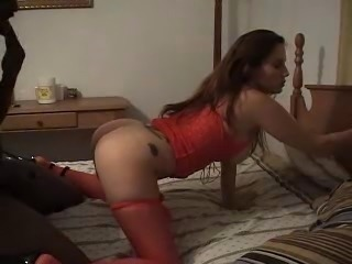 Wife takes it, cuck hubby watches,