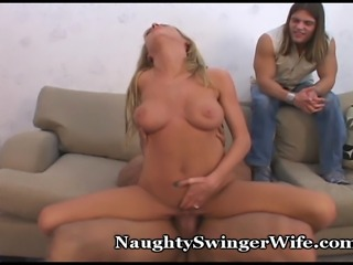 Thick Cock Fucks Tight Wife Pussy