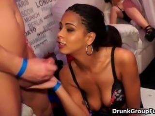 Hot sluts go crazy getting their horny