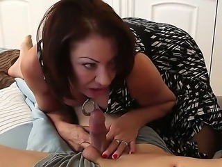 Mature hottie Vanessa Videl gets hard pounded by horny hunk Giovanni Francesco