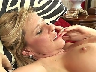 Two super hot blonde milfs prove us that they dont need husbands or lovers to...