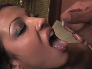 The amazing deep throat blowjob by experienced pornstar Maya Gates. She...
