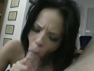 Crazy hot Aliz proves her new boyfriend that she can present really hot and...