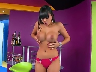 Sasha Cane is awesome chick with giant boobs and sexy ass. The girl knows how...