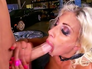 Luxurious busty woman Puma Swede is getting pounded like never before in...