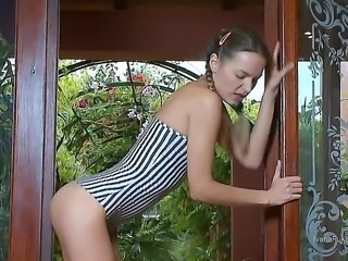 Ivana are showing us herself. She slowly starts to undress her absolutely...