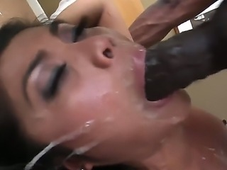 Hardcore interracial fuck with a sexy Asian babe named Arcadia Dayida, Jonni...