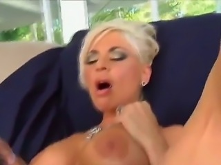 Interracial fuck with a horny and passionate milf whose name is BB Gunn