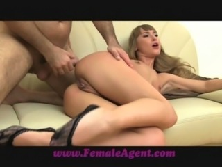 FemaleAgent Anal delight on the casting couch free