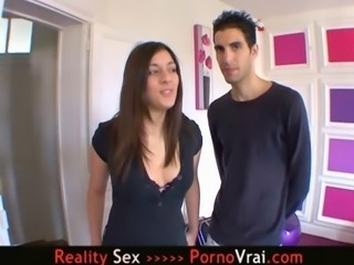French Arab Teen gets her Pussy Fucked