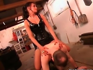 Nasty  man likes being dominated