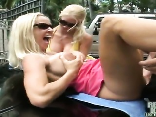 When you get to drive two fine assgirls like my boss Tabitha and herpartner...