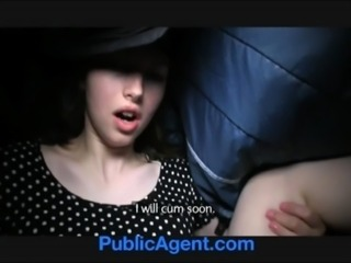 PublicAgent Lyda has sex in my car for cash to buy clothes free