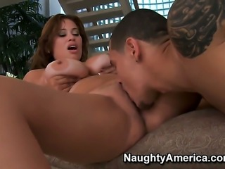 Cris Commando gets seduced into fucking by Latin Selena Castro with phat...