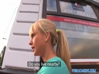 PublicAgent HD Delightful Blonde Cutie takes my big cock in her sweet pussy free