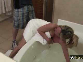 Jodi West Hard Fucked by Son