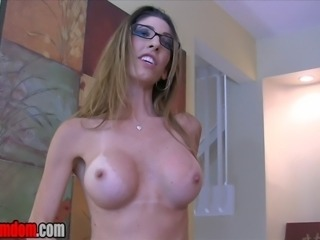 "Dava Foxx wants to turn you into her cum guzzling slut.  ""You want me to be..."