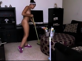 Cute girl spanking