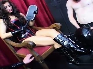 Horny pussy bondage gangbang
