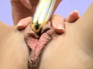 Elektra takes off her panties and rubs her clit. Then she