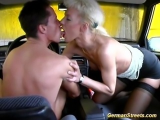 German is fucked in car washing