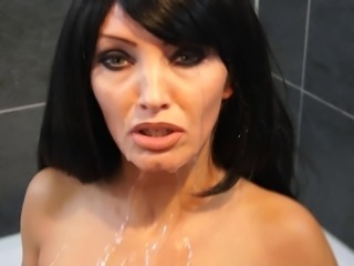 german women multiple coverd with cum