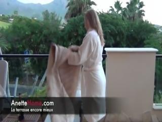 une journee en direct cam de l hotel avec amatrice francaise pour les voyeurs...