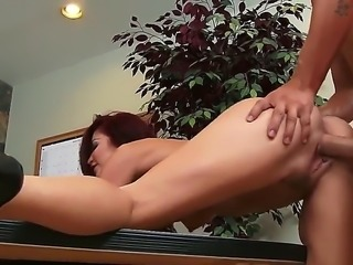 Monique Alexander is a hot and horny redhead chick who just wants some of...