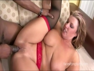 Thick busty cougar with hairy pussy rides dick with pussy PIC