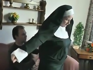 German Young Boy seduce Granny Nun to Fu - My Fuck from MILF