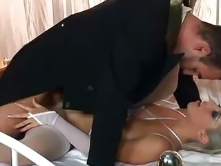 """Russian bride Nadia and groom fucking immediately"""