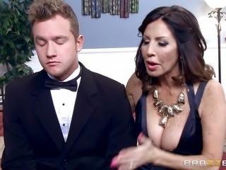 """Wedding day fucking for naughty MILF Tara Holiday"""